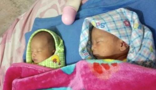 Foto Bayi Kembar Diberi Nama Prabowo dan Sandi, BPN: Bawa Keberuntungan