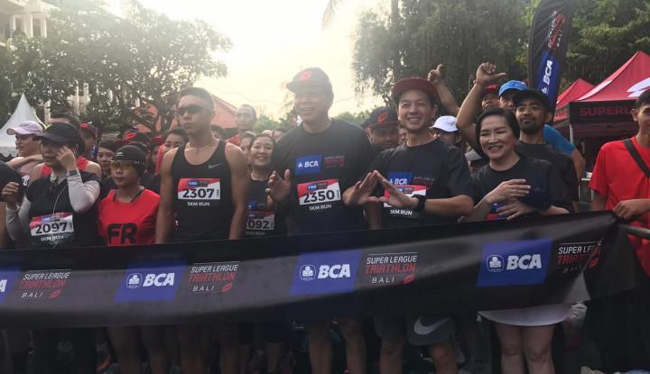 1.500 Peserta Ikuti BCA Super League Triathlon 2019 - Warta Ekonomi