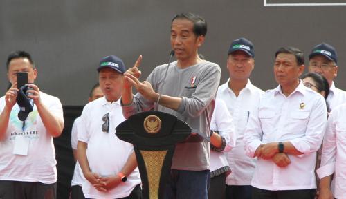 Foto Resmikan MRT Pakai Kaos Oblong, Gerindra Tanya Revolusi Mental Jokowi