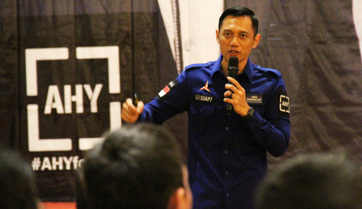 Soal Pidato Prabowo, AHY Jawab dengan Senyuman - Warta Ekonomi
