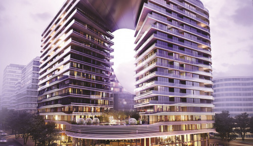 Foto Crown Group Siap Bangun SKYE Suites di Kawasan Green Square