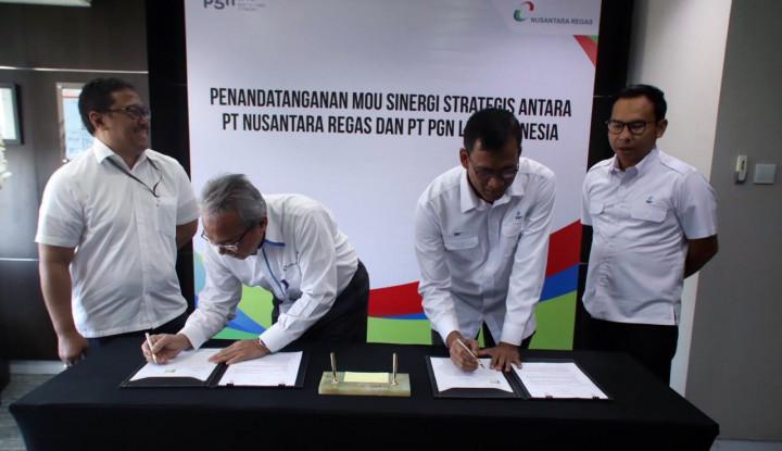 Nusantara Regas dan PGN LNG Sepakat Kerja Sama Bisnis Regasifikasi LNG - Warta Ekonomi