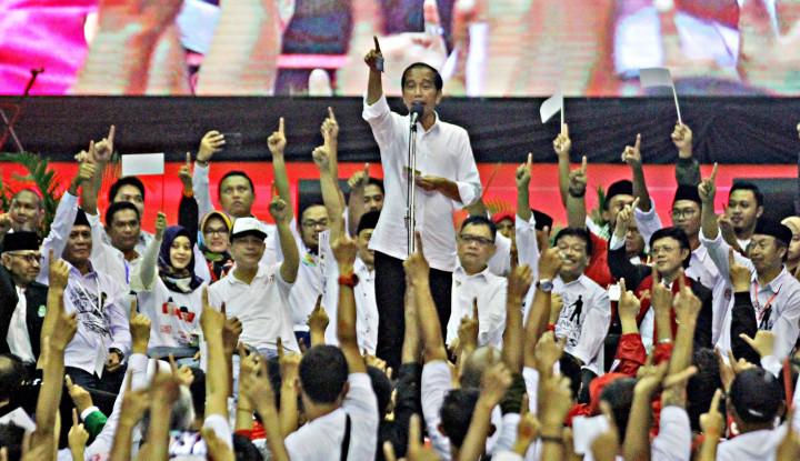 TKN: Putih Adalah Jokowi, Hitam Itu Politik Hoax dan Fitnah - Warta Ekonomi