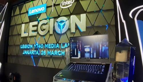 Legion Y740, Pesaing ASUS Rog di Lini Laptop Gaming
