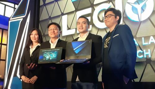 Foto Lenovo Duduki Peringkat 2 Pasar Laptop Gaming
