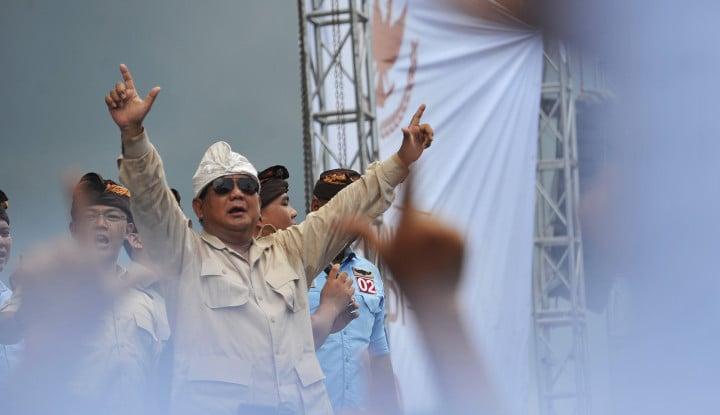 Gerindra Tunggu Keputusan Prabowo Soal Tawaran di Kabinet Jokowi - Warta Ekonomi