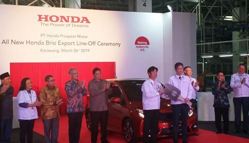 Foto HUT Ke-20, Honda Ekspor Brio ke Vietnam dan Filipina