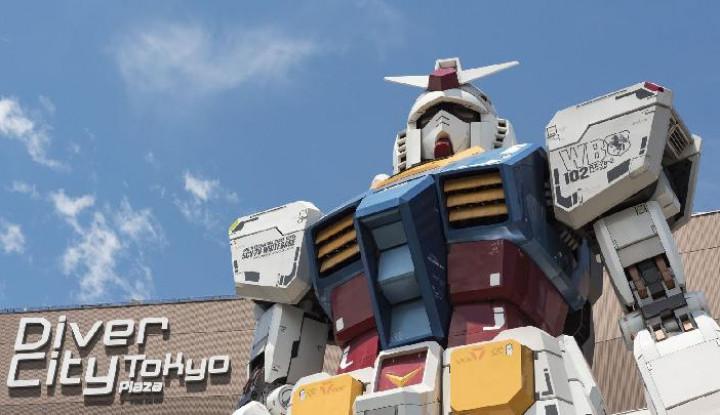 Wow, Ilmuwan Indonesia Siap 'Hidupkan' Robot Gundam Lewat AI - Warta Ekonomi