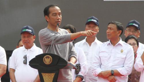 Foto Oh People Power, Jokowi Bilang: Yang Kalah Ya Mesti Tidak Puas!