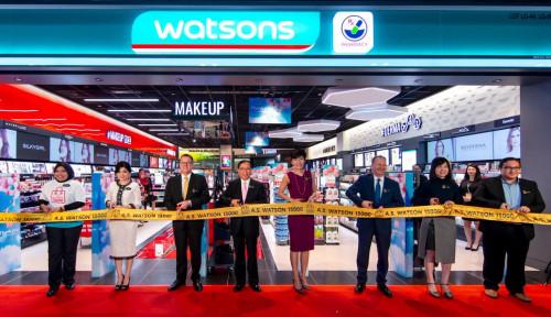 Foto Di Malaysia, Watson Group Buka Toko ke 15.000