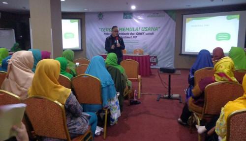 Foto Go-Jek Latih 150 Muslimat NU Semarang Agar Melek Bisnis Digital