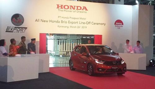 Foto Ekspansi Pasar, Honda Kejar Ekspor Hingga Rp25,5 Triliun