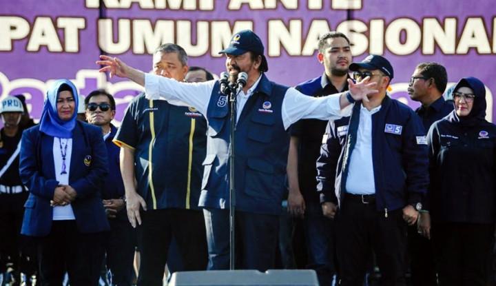 Soal Pertemuan Jokowi-Prabowo, Tanggapan Paloh Adem. . .