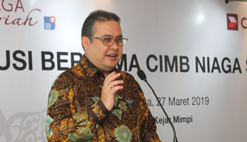 Foto Triwulan I 2019, CIMB Niaga Syariah Catat Laba Rp236 M