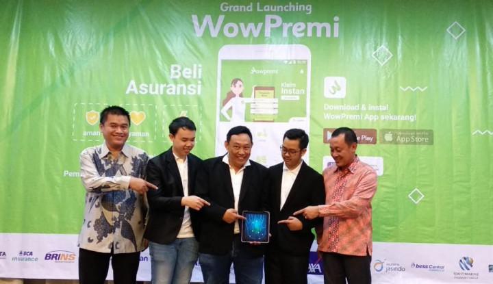 WowPremi Jadi Insurtech Pertama di Indonesia, Apa Keunggulannya? - Warta Ekonomi