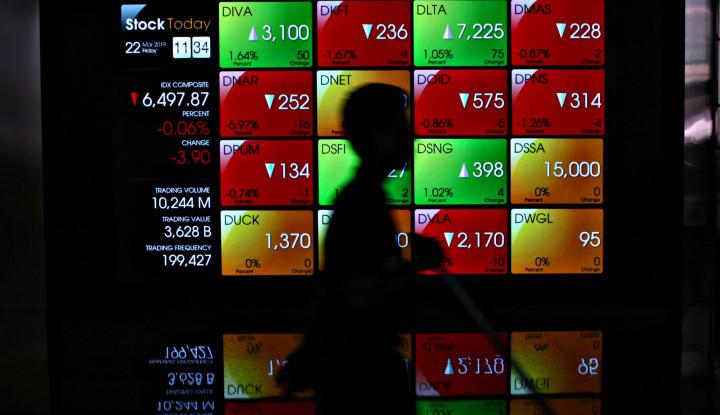 Profit Taking Menghantui, IHSG Dibuka Hijau 0,10% - Warta Ekonomi