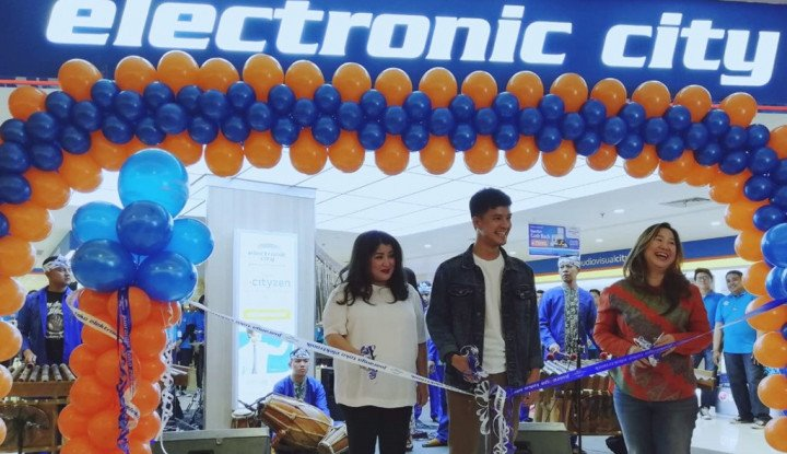 Electronic City Resmi Hadir di Kota Kasablanka - Warta Ekonomi