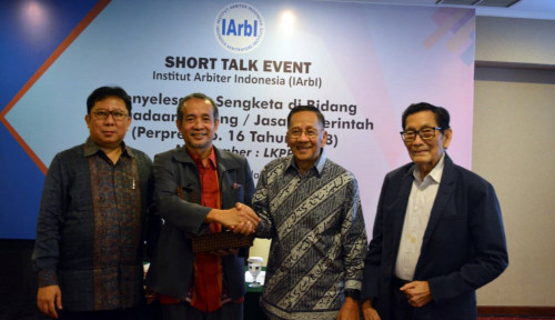 Foto Gandeng LKPP, IArbI Bahas Penyelesaian Sengketa di Indonesia