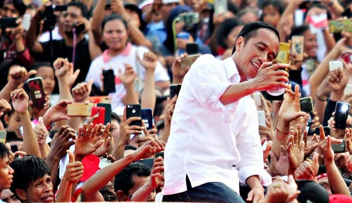 Jokowi Targetkan Raup 55% Suara di Depok, HT Bakal Lakukan Ini - Warta Ekonomi