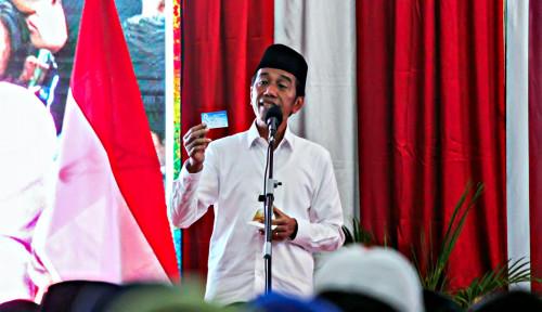 Foto Jangan Golput dan Datang ke TPS Pakai Baju Warna Putih, Seru Jokowi
