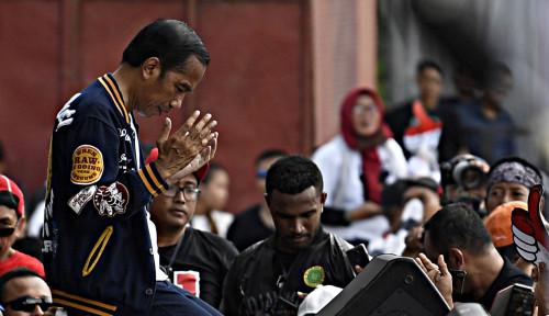 Foto Sosok Almarhum Sutopo di Mata Presiden Jokowi