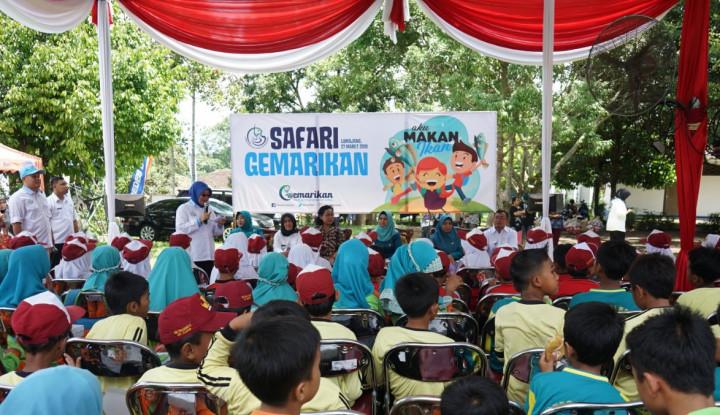 Dorong Kenaikan Konsumsi Ikan, KKP Gelar Kampanye Gemarikan di Kabupaten Lumajang - Warta Ekonomi