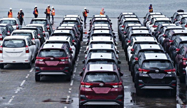 Di 2025, Indonesia Incar  Ekspor  1 Juta Mobil - Warta Ekonomi