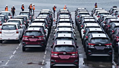 Foto Ekonomi Dunia Lesu, Ekspor Toyota Indonesia Tetap Naik