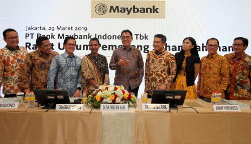 Foto Laba Bersih Maybank Melonjak 21,6%, Pemegang Saham Terima Dividen Berapa?