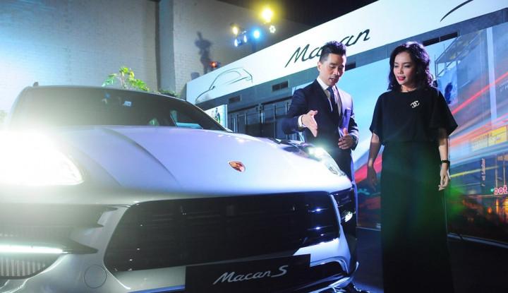 DBS TPC Jadi Mitra Penjualan Porche Macan Terbaru - Warta Ekonomi