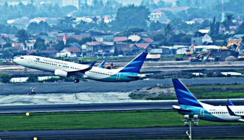 Foto Wadidaw! Bercerai dengan Sriwijaya Air Bikin Saham Garuda Turbulensi