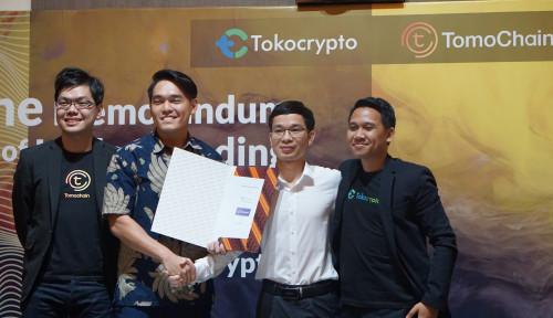 Foto Gandeng Tomochain, Tokocrypto Dorong Revolusi Industri Berbasis Blockchain