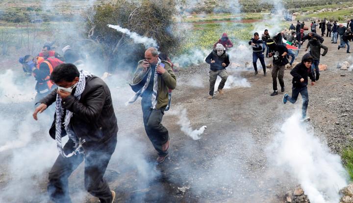 Lakukan Serangan, Tentara Israel Tembak 10 Orang Palestina di Jalur Gaza - Warta Ekonomi
