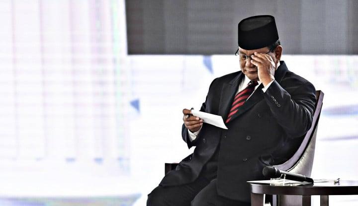 Prabowo: Arah Perjalanan Indonesia Telah Lama Salah - Warta Ekonomi