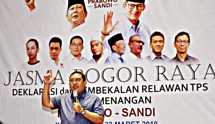 Ditantang Tim Jokowi, Fadli Zon Jawab Begini - Warta Ekonomi