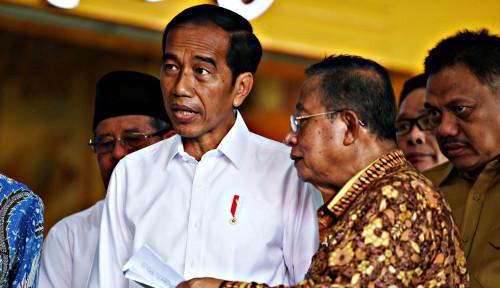 Foto Giant Ikut Tumbang, Jawaban Menteri Darmin Selow Banget,