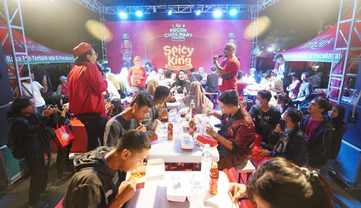 Pecinta Kuliner Serbu Pucuk Coolinary Festival - Warta Ekonomi