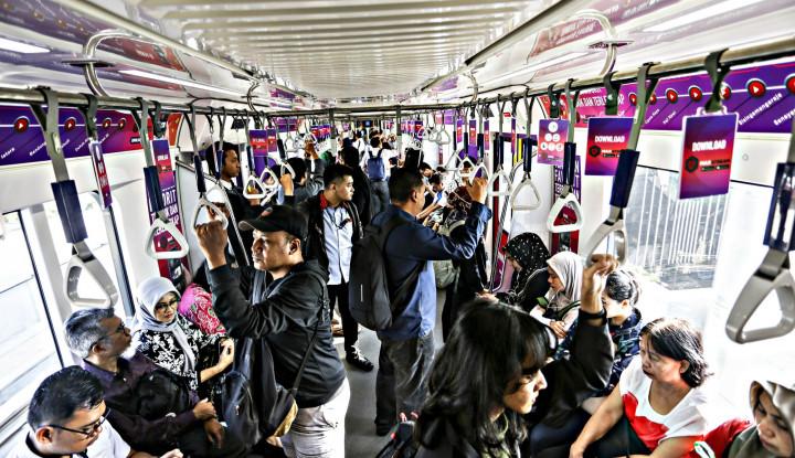 Jakarta Libur, MRT Tetap Kebanjiran Penumpang - Warta Ekonomi