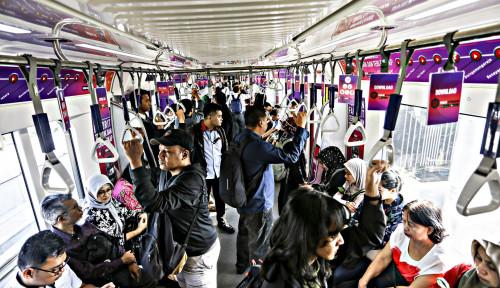 MRT Jakarta Catat Ketepatan Waktu 99,8%