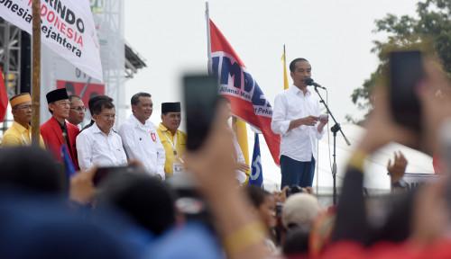 Foto Dikritik Erwin Aksa, Jokowi Puji JK