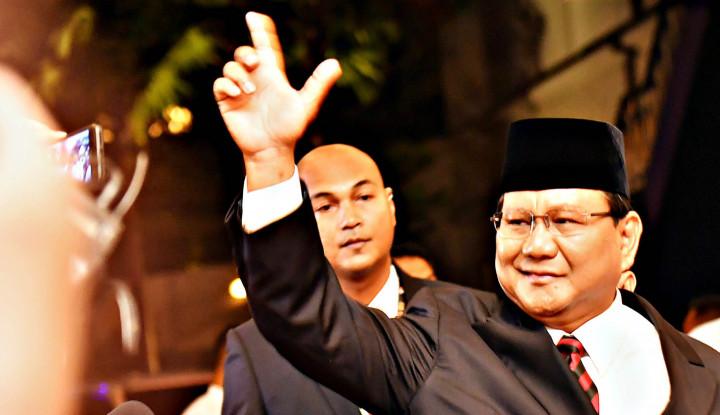 Keren! Prabowo Akan Hadir di Pelantikan Jokowi-Ma'ruf - Warta Ekonomi