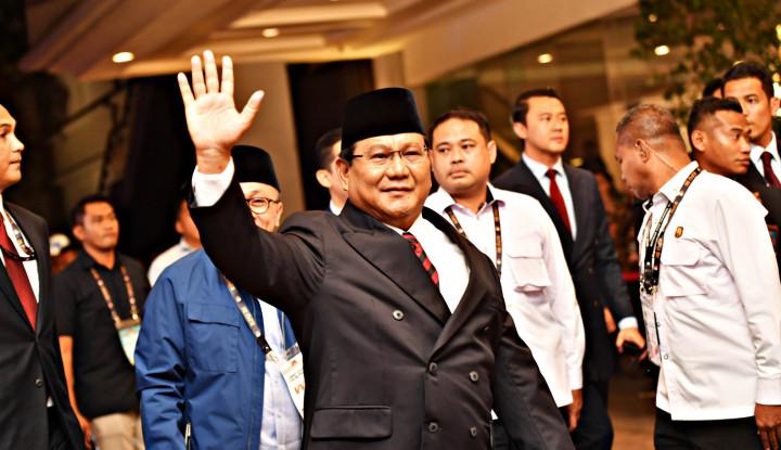 Hati Prabowo Sedang Berbahagia Menyambut Kemenangan - Warta Ekonomi