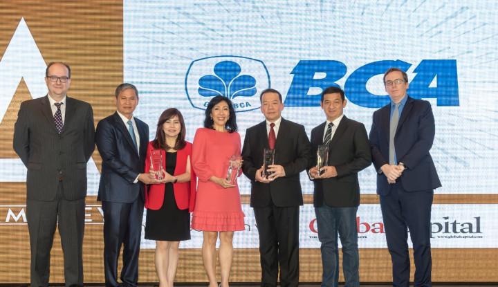 BCA Boyong 3 Penghargaan Internasional dari Asiamoney Awards - Warta Ekonomi