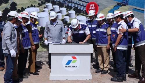 Foto Pertamina Resmi Memulai Proses Pembangunan Empat Terminal LPG di Timur Indonesia