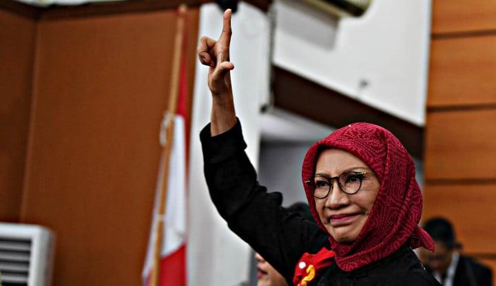 Bebas, Ratna Sarumpaet Cuma Bilang: Aku Bahagia... - Warta Ekonomi