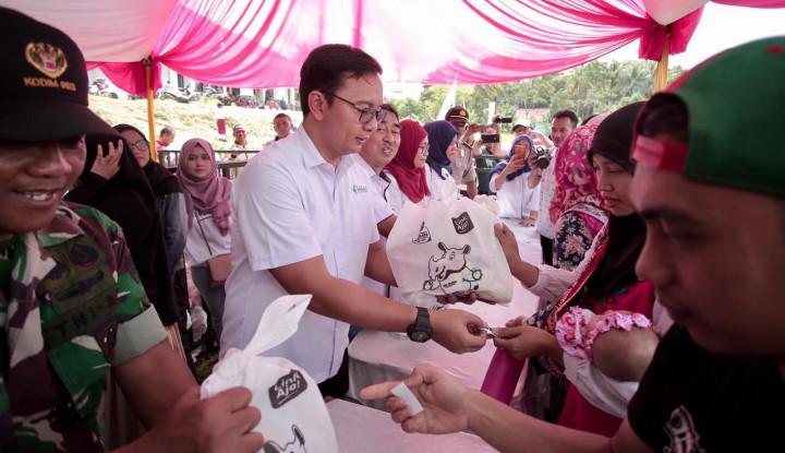 Pupuk Indonesia Gelar Pekan Pangan Murah di Ciamis - Warta Ekonomi