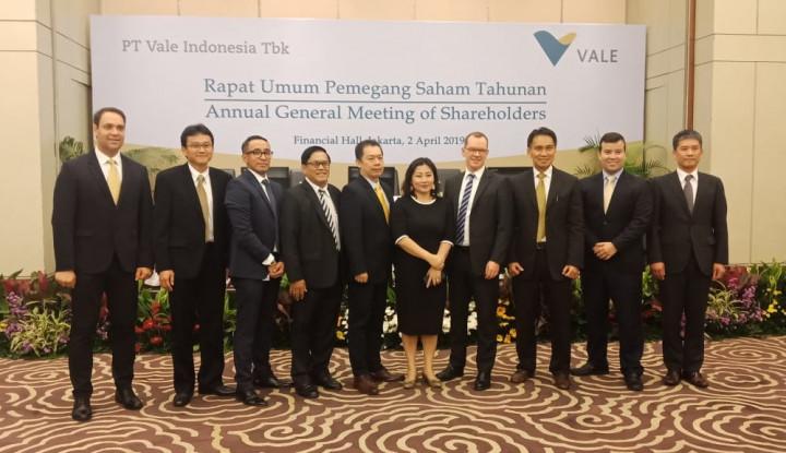 Ogah Bagi Dividen, Vale Indonesia Rombak Direksi dan Komisaris - Warta Ekonomi