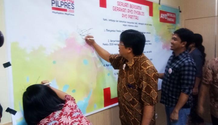 Dear Seluruh Warga Indonesia, Ayo Nyoblos Ayo Pantau Pemilu 2019 - Warta Ekonomi