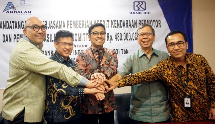 Andalan Finance Dapat Pendanaan Rp480 Miliar dari BRI - Warta Ekonomi