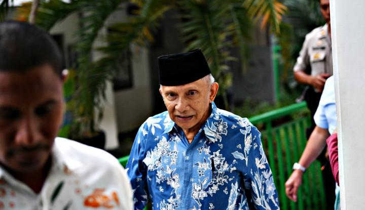 Amien Rais Sewot Ibu Kota Pindah, Ruhut: Ingat Darah Tinggi, Asam Urat, Jantung - Warta Ekonomi